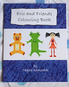 Eric And Friends Colouring Book - travel activities