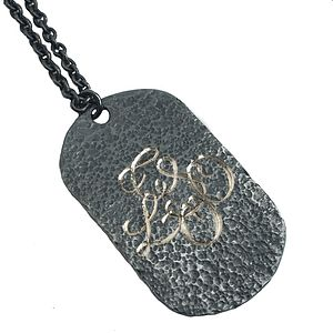 Personalised Military Tag Necklace - necklaces & pendants