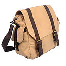 Eureka Canvas Shoulder Bag