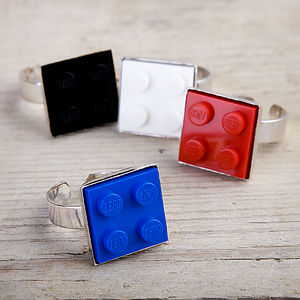 Building Brick Ring - women's jewellery