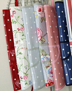 Adult & Children's Oilcloth Aprons - kitchen linen