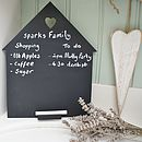 Heart And Home Chalkboard