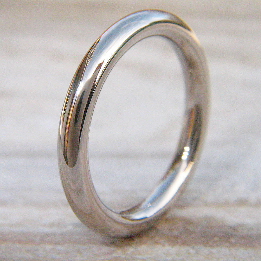 3mm halo wedding ring in 18ct gold or platinum - Halo Wedding Ring