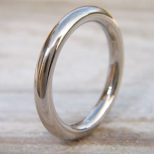 3mm Halo Wedding Ring In 18ct Gold Or Platinum - rings