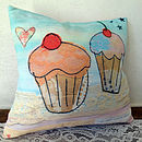 The cupcakes cushion