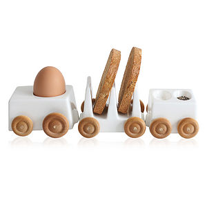 Egg Cup And Soldiers Breakfast Train - kitchen