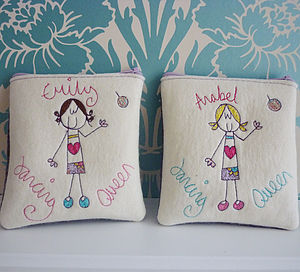 Personalised Dancing Queen Purse - girls' bags & purses