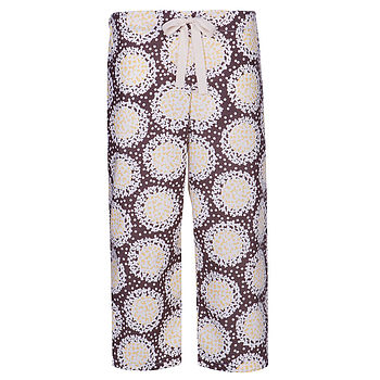 Hydrangea Organic Cropped Trousers
