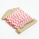 Red Hearts White Wrapping Paper