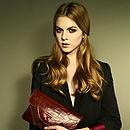 Georgie Leather Clutch Bag