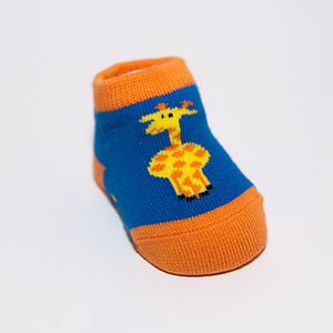 Giraffe Booties - clothing