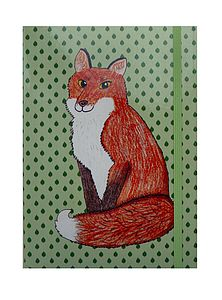 Mr Fox A5 Notebook *More Designs - writing