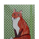 Mr Fox A5 Notebook *More Designs