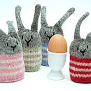 Knitted Bunny Rabbit Egg Cosy