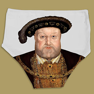 Tudor Portrait Pants - Henry - underwear & socks
