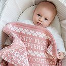 Personalised Mary Mary Baby Blanket