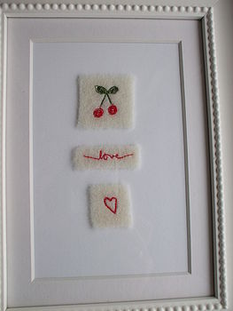 Embroidered Love Picture