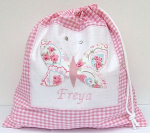 Personalised Girl's Shoe Bag