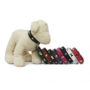 Handmade Leather Collars - gifts for pets