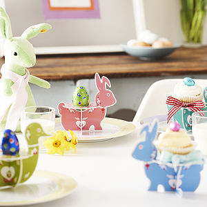 Easter Treat Stands - easter decorations
