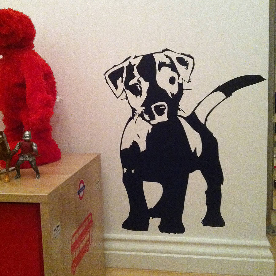 Love My Dog Wall Sticker