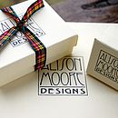 Alison Moore Designs jewellery boxes from Orkney