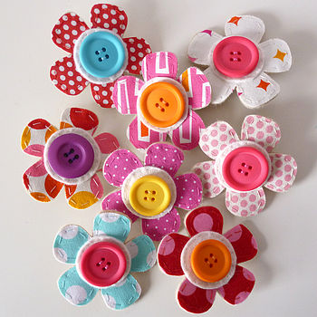 Handmade Flower Drawing Pins