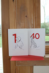 'A Dalmatian Spot for every year' Age Cards