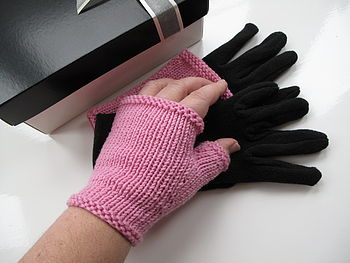 Double Gloves And Wrist Warmers