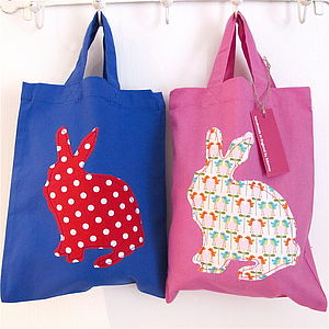 Easter Egg Hunt Bag - ribbon & wrap