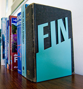 'Fin' Bookend - decorative accessories
