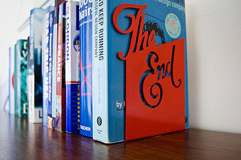 'The End' Bookend