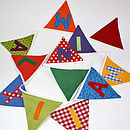 Personalised Party Bunting - Maximilian