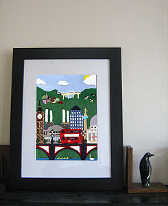 London View Limited Edition Print