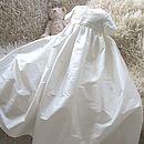 Boy's Silk Christening Gown 'Venice'