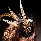 Pheasant Feather Fascinator - accessories