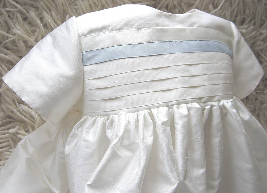 boys silk christening gown \'jack\' by adore baby | notonthehighstreet.com