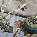 Crown Charm Napkin Ties