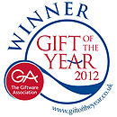 Winner of 'Gift of the Year 2012' for the Made in UK category and runner up in the 'Celebrating Britain' category.