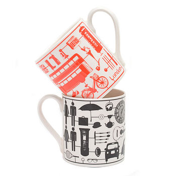 Airfix London Fine Bone China Mugs