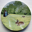 Upcycled Surrealist Plate