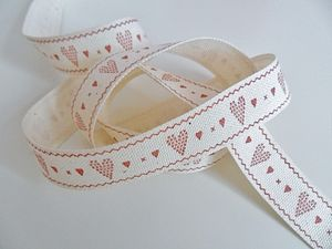 Heart Ribbon Three Metre - ribbon