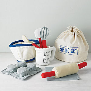 Cotton Baking Play Set