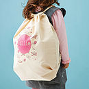 Personalised Nursery Or Kit Bag