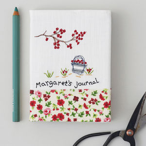 Personalised Journal Notebook - home sale
