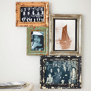 Vintage Style Multi Wall Frames By Nordal - picture frames
