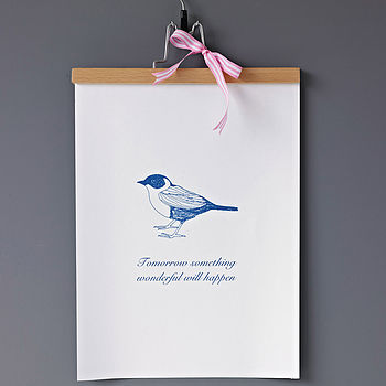 'Something Wonderful Will Happen' Print