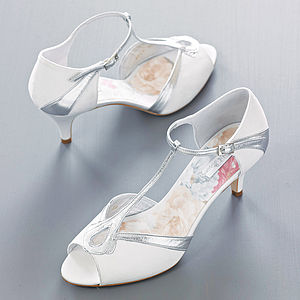 Tilly Satin Peep Toe Shoes - shoes & boots