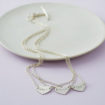 Personalised Layered Love Necklace