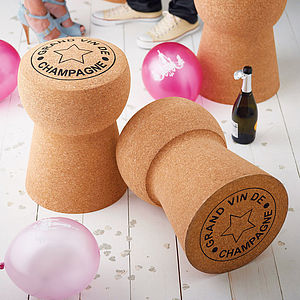 Giant Champagne Cork Stool *Save £50 - drinks connoisseur